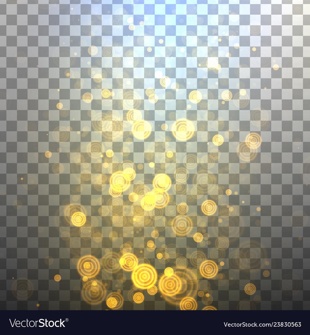 Glitter lights effects