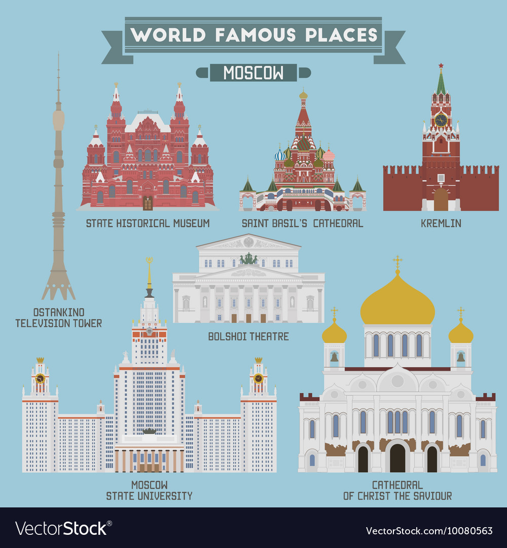 Moscow famous places