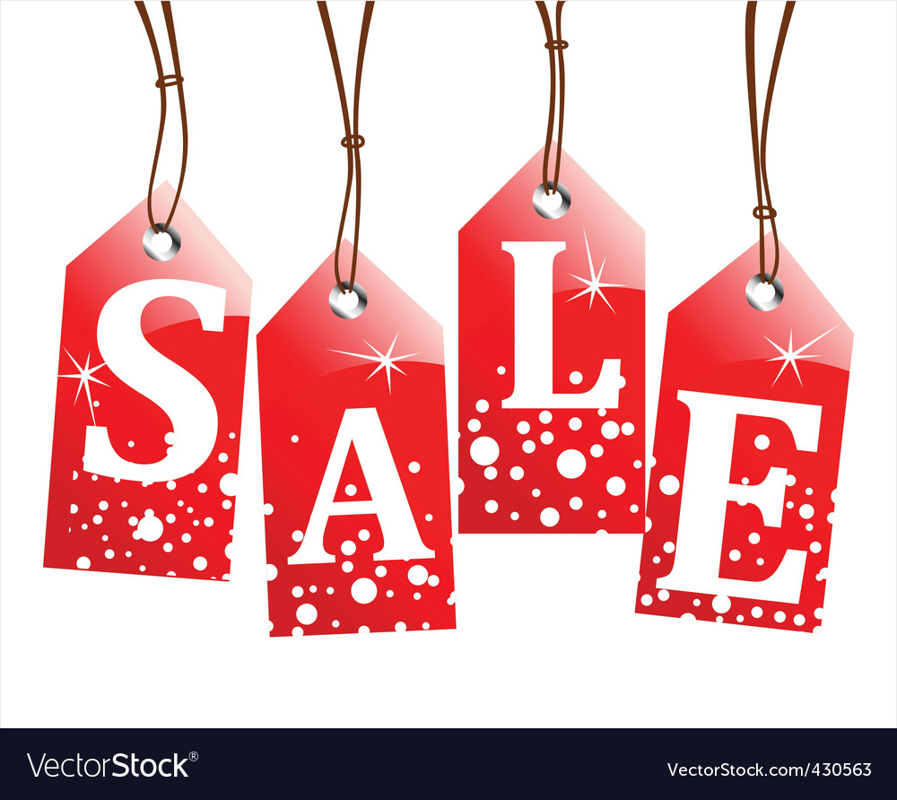 retail sale tags royalty free vector image