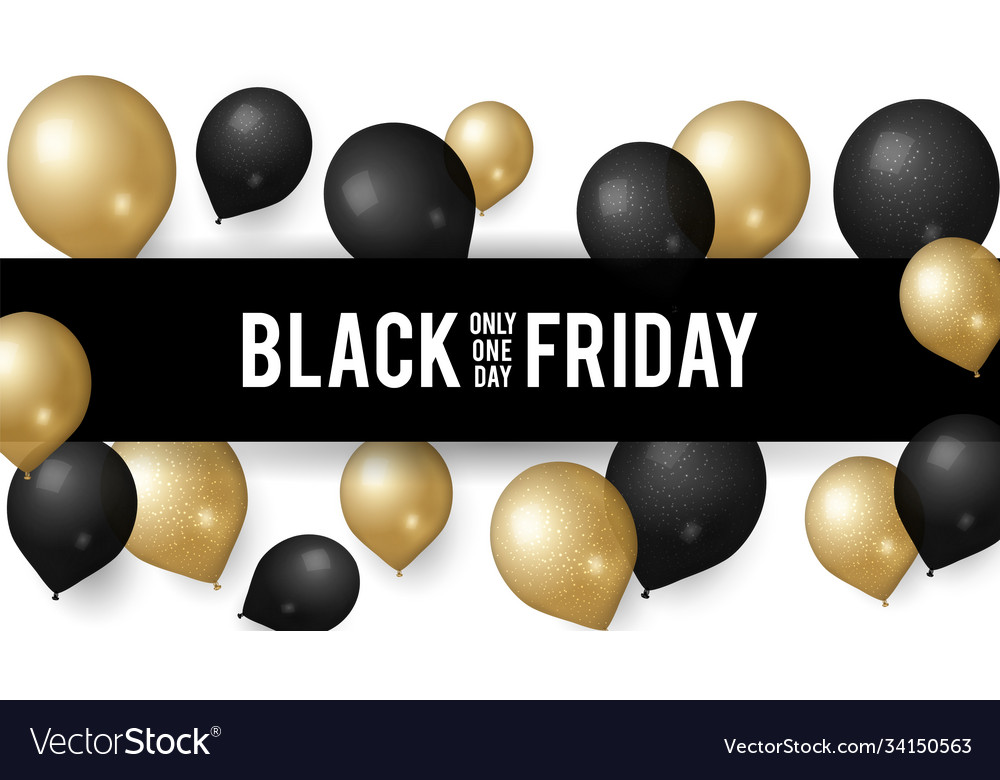 Sale black friday shopping discount banner