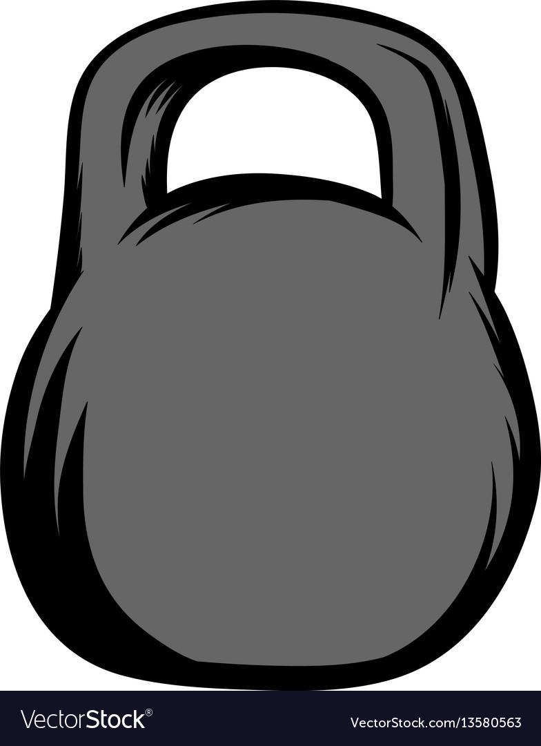 Weight icon cartoon vector image