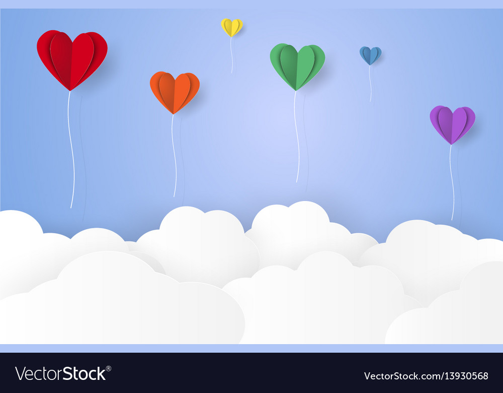 Balloon and cloud