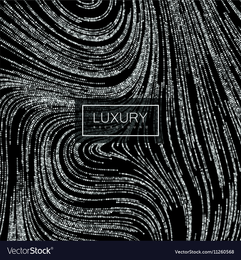Luxury background with shiny silver glitters
