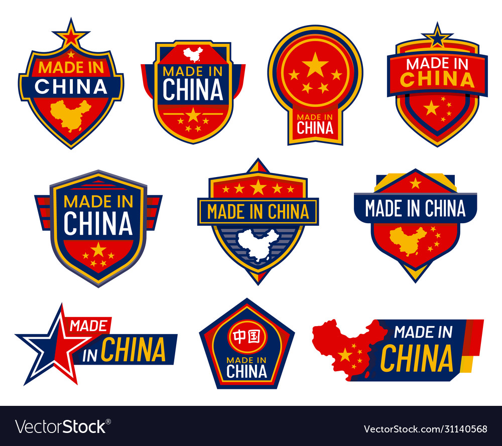 Made in china labels quality warranty certificate