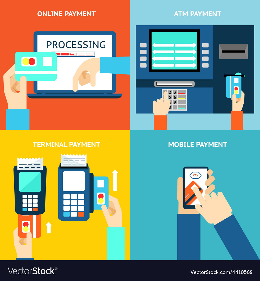 Payment methods Credit card cash mobile app and