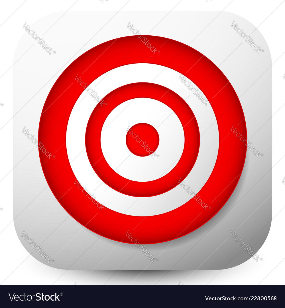 Red Target Icons