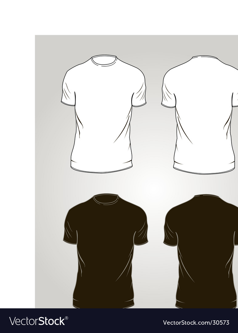 Tee-shirt outlines