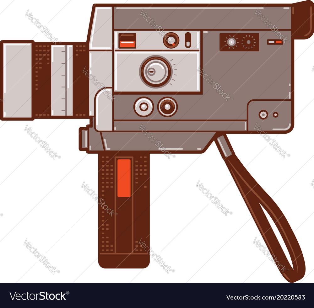 Classic 8mm movie cameras