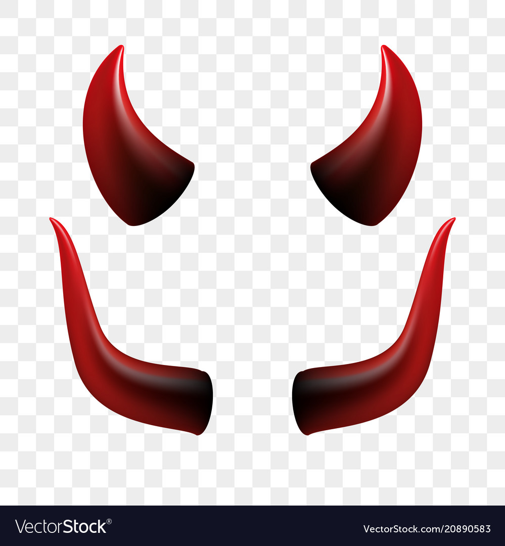 Devil horns video chat face icon