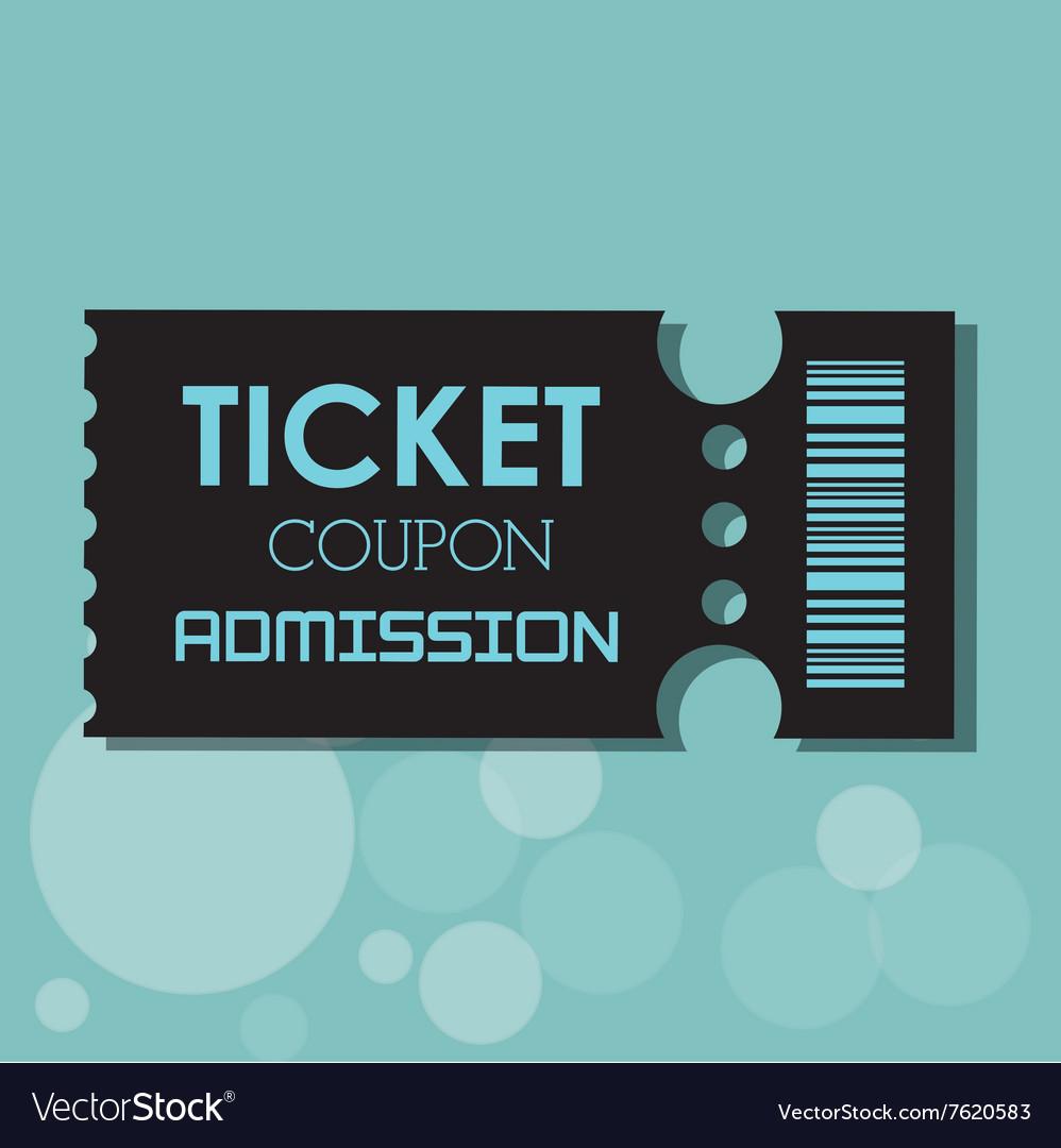 Ticket icon design