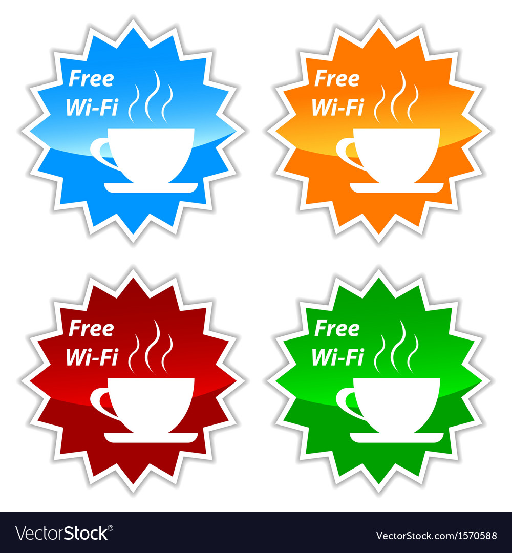Free wi-fi labels