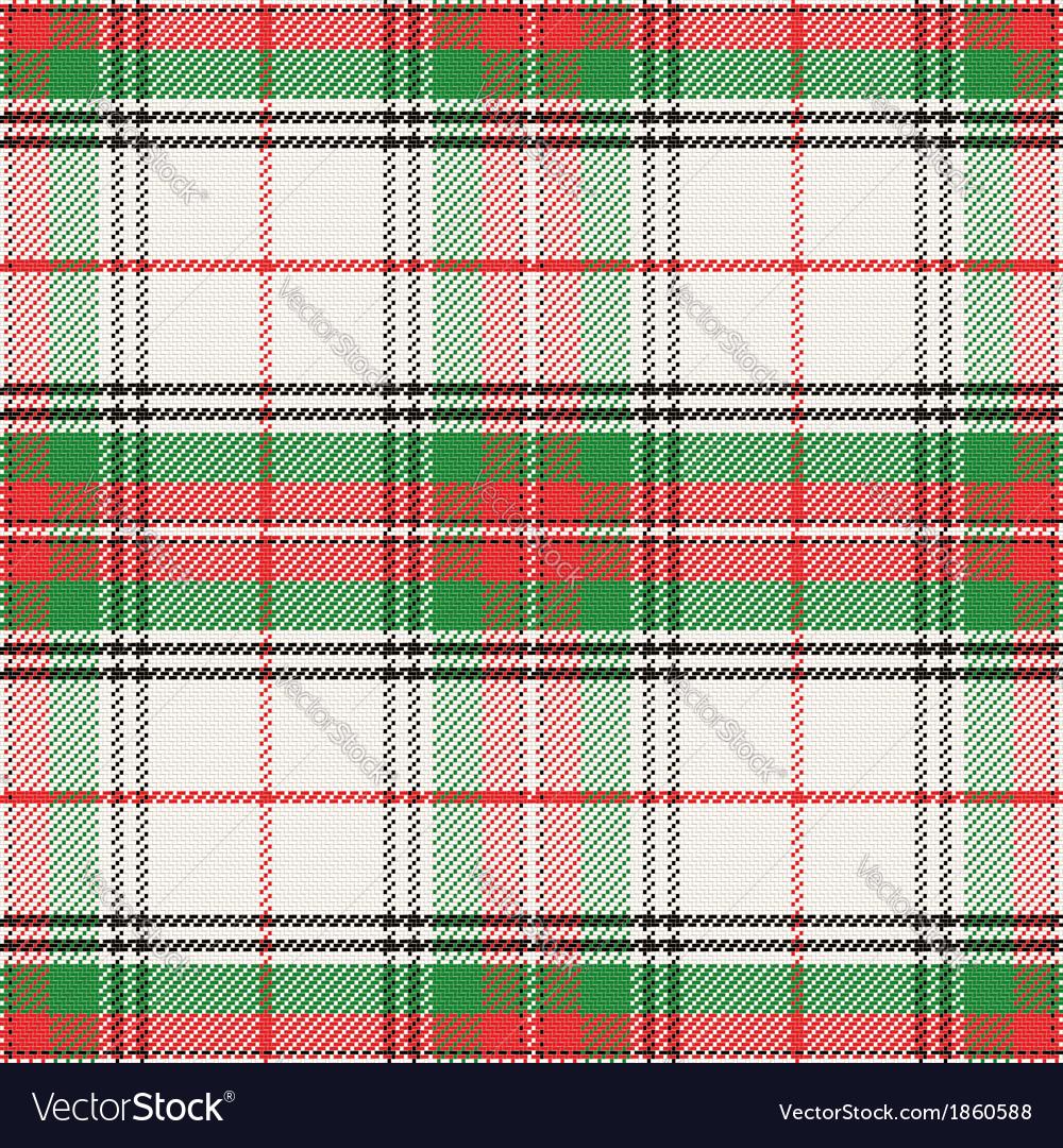 Seamless pattern Scottish tartan Stewart vector image
