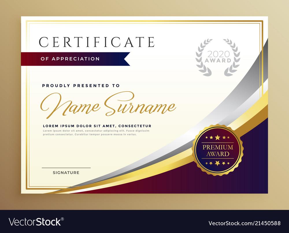 certificate template golden stylish tema thema diploma goldenen stilvolles elegant dorato modieuze gouden ontwerp progettazione certificato modello nel alla moda
