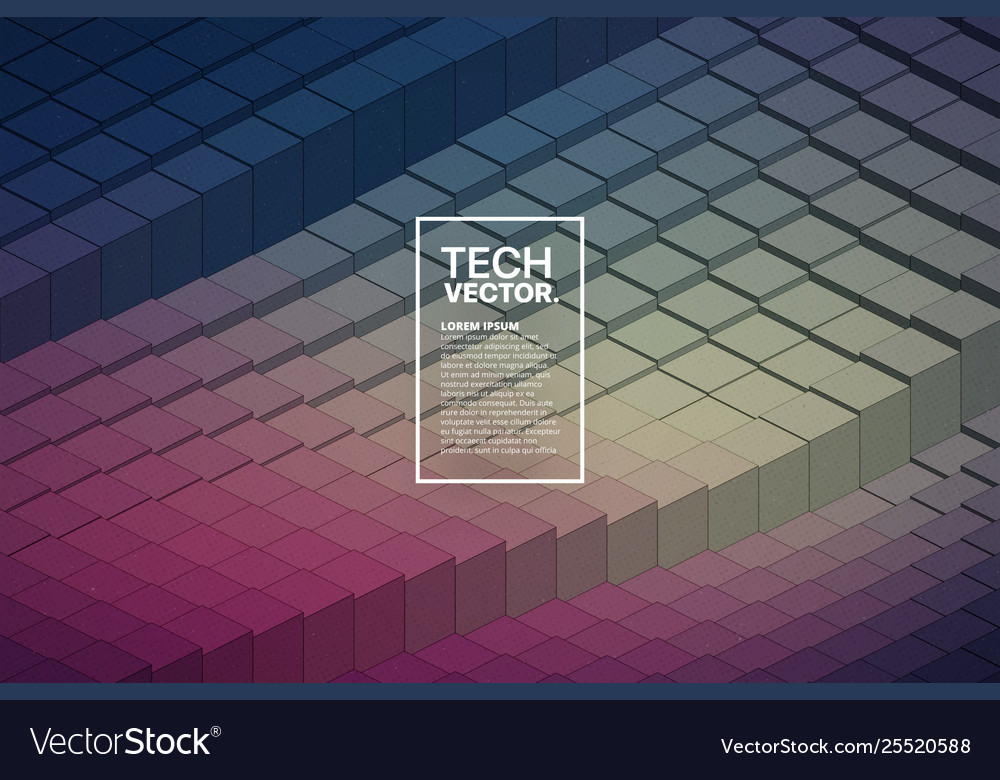 Technology 3d waveform abstract background