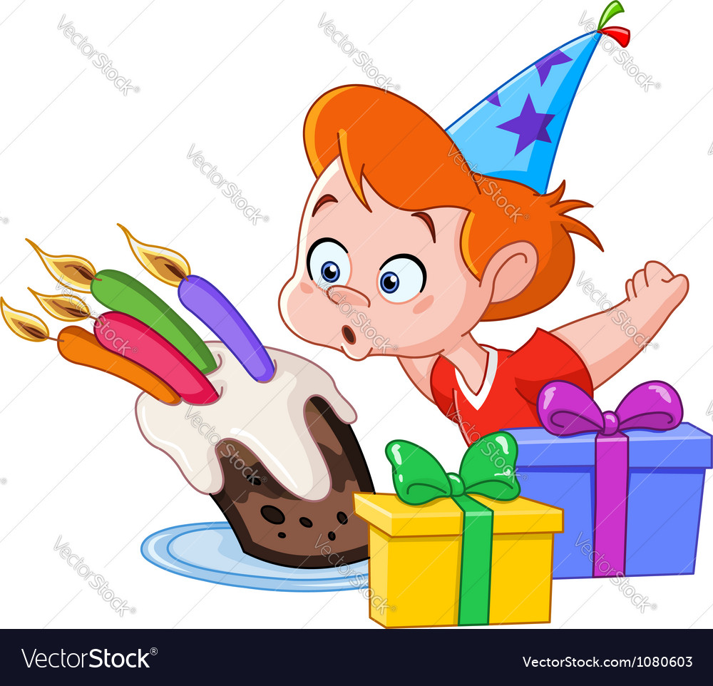 Birthday Boy Vector Image