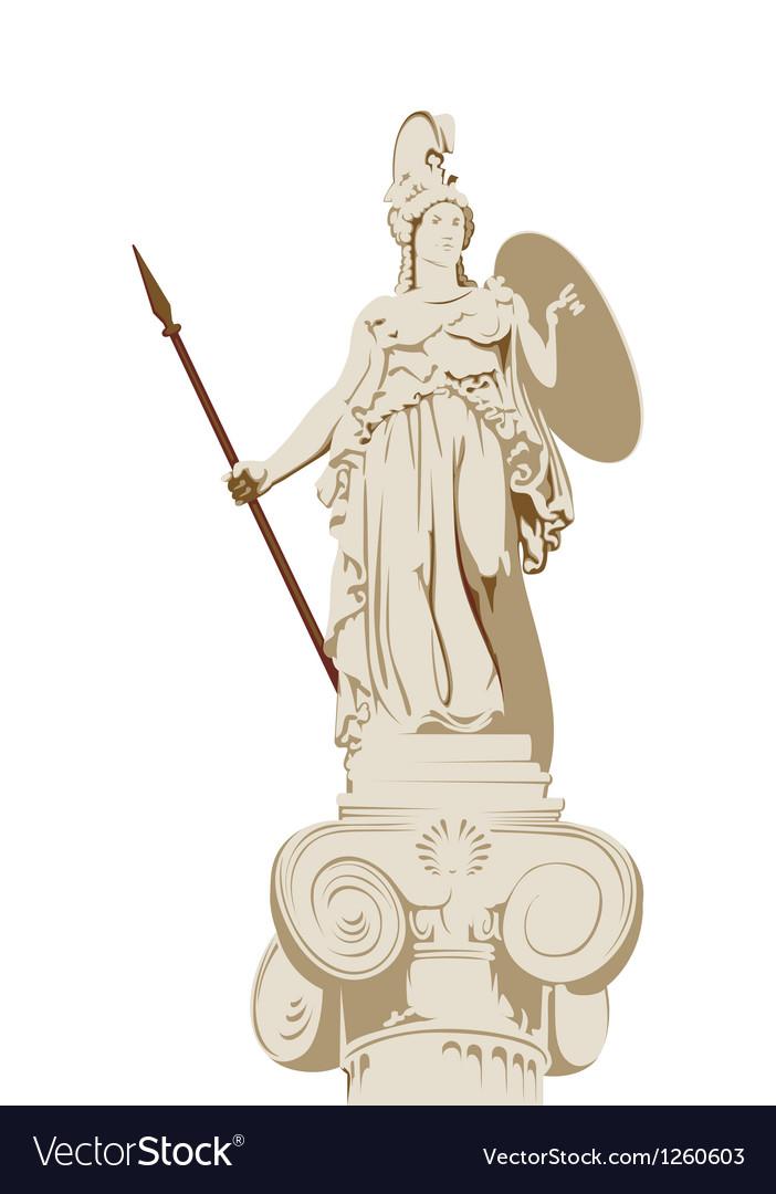Greek statue of Athena