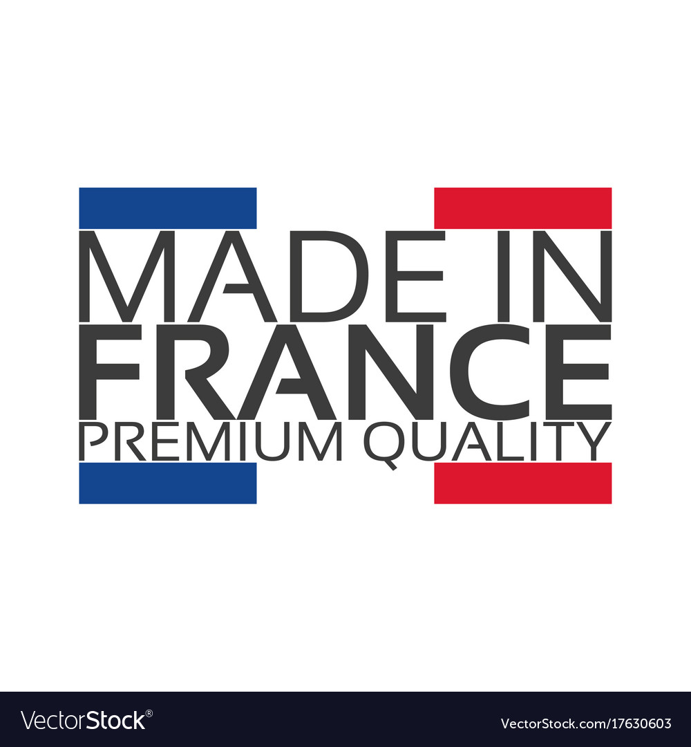 Made in france premium quality sticker