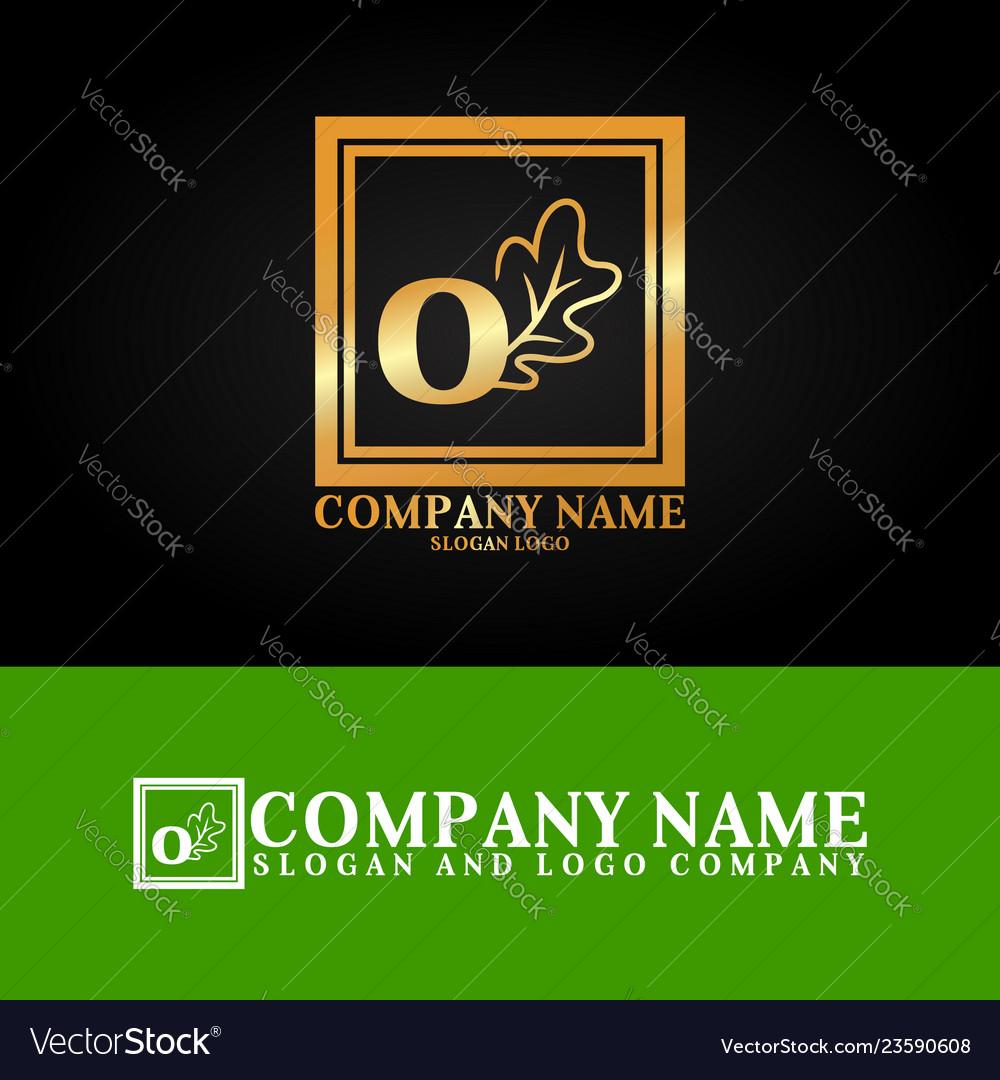03 oak letter o