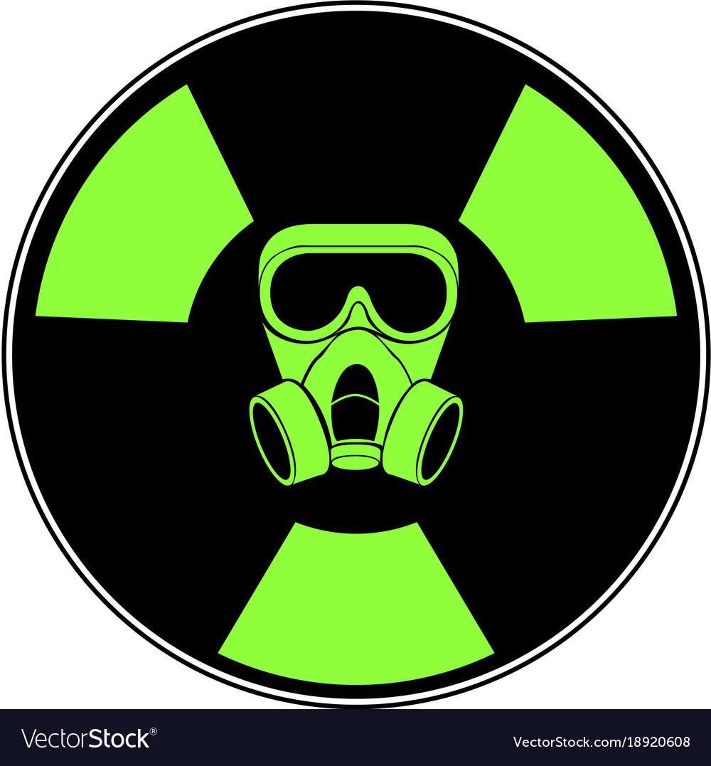 Isolated radioactive signal