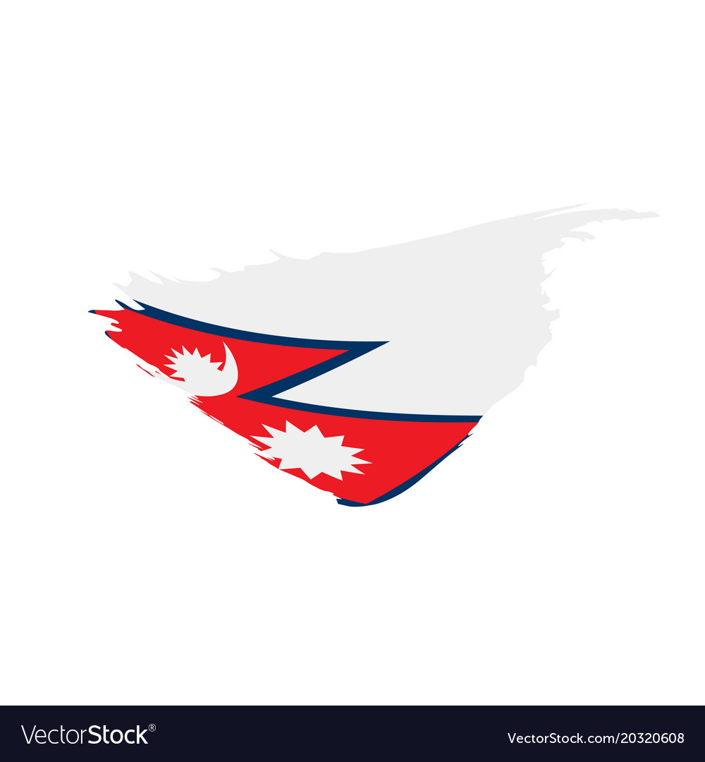 Nepal Flag Royalty Free Vector Image Vectorstock