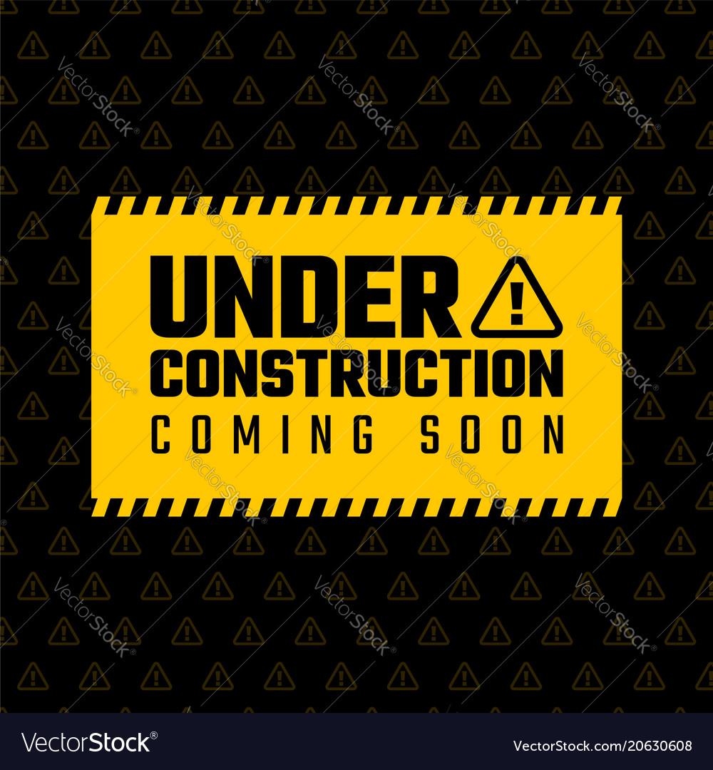 Under construction design website development