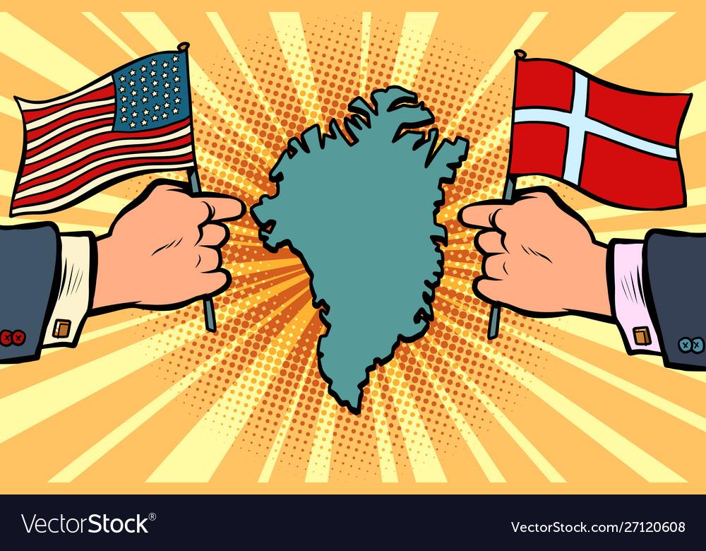 Usa v denmark dispute over greenland hands of