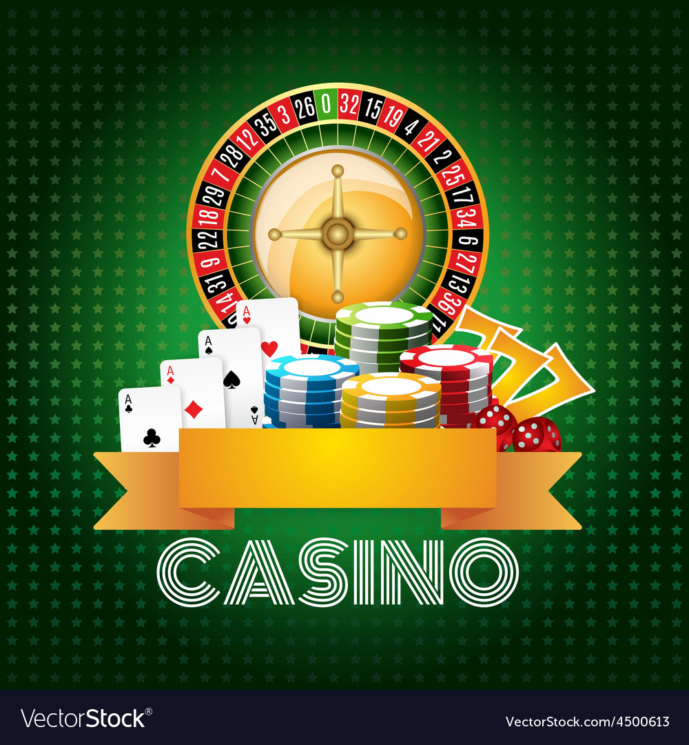 Casino background poster print