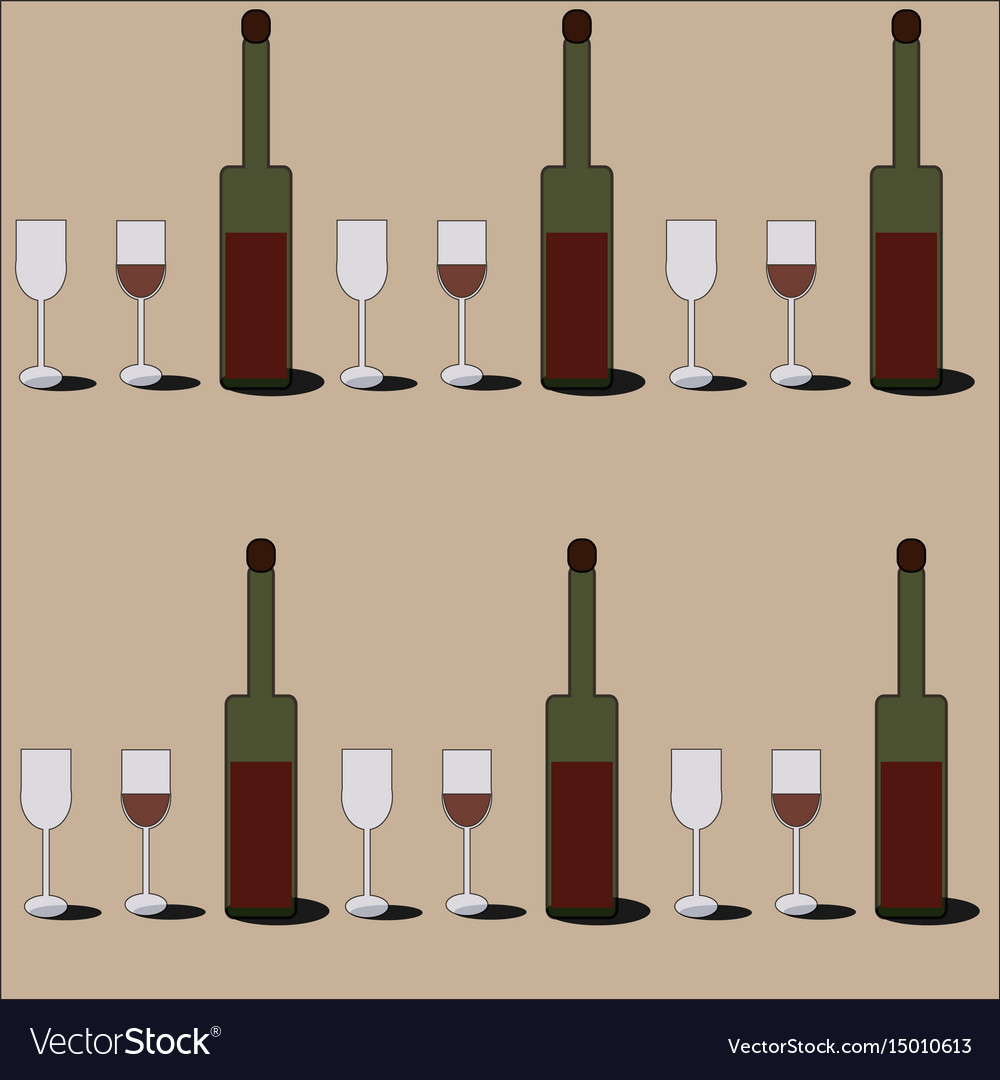 Red wine pattern