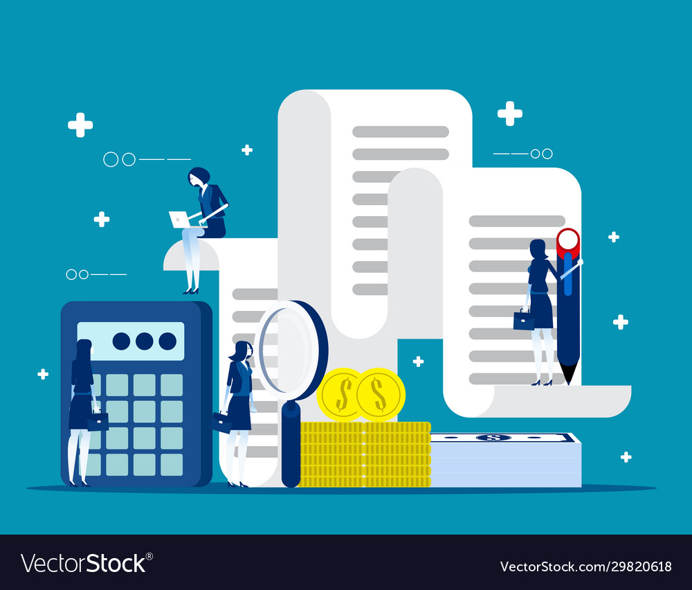 Business and accounting concept finance