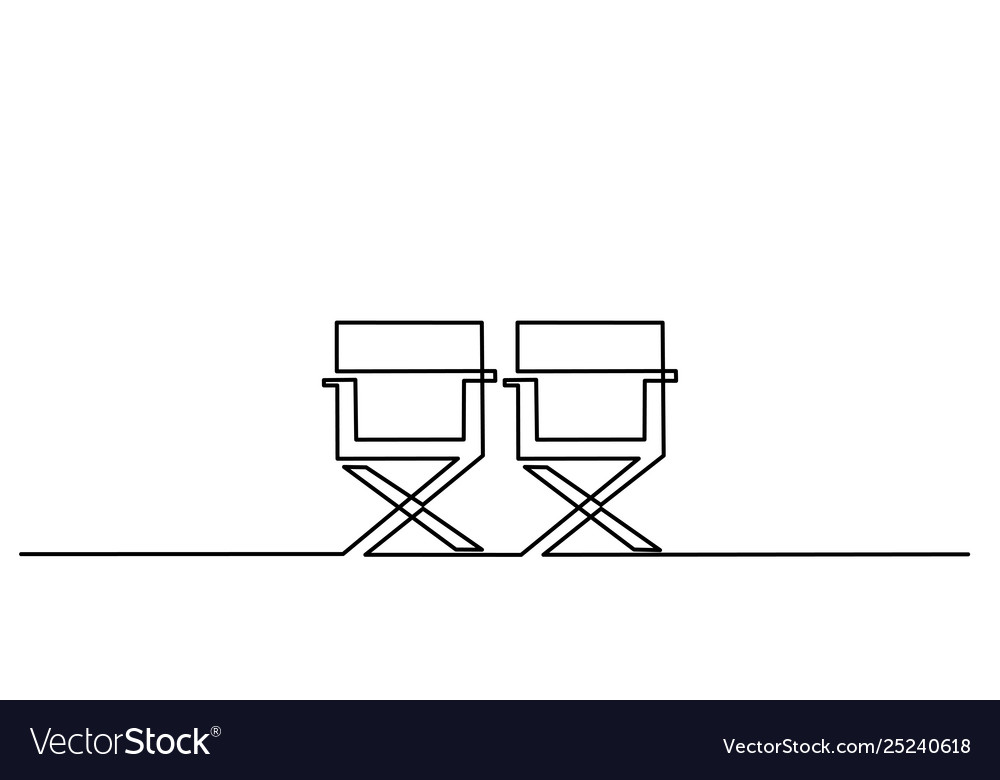 Furniture chair icon on white background