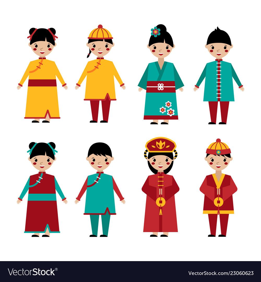 Traditional chinese holiday clothing set