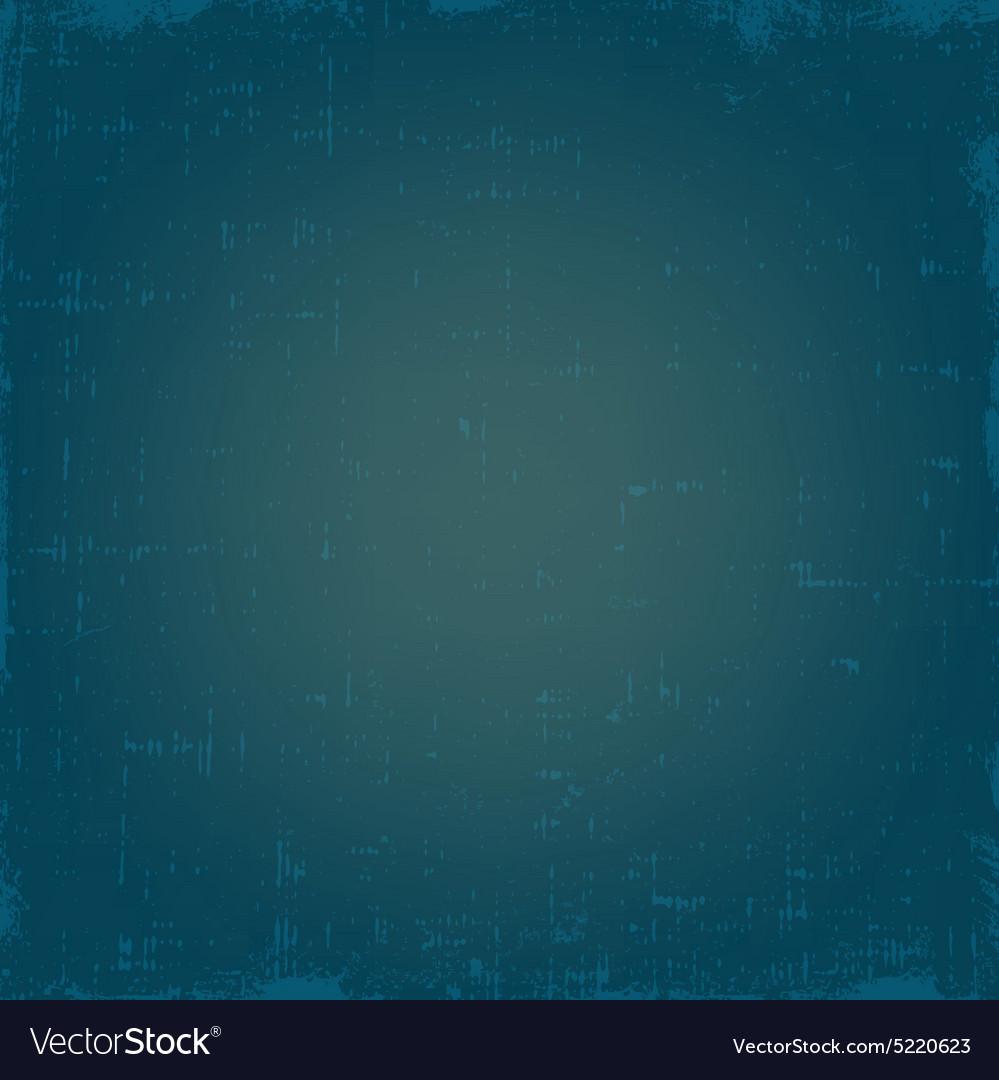 Vintage blue grunge texture or background vector image