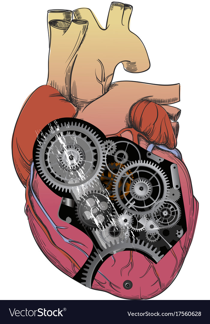 Heart with mechanism