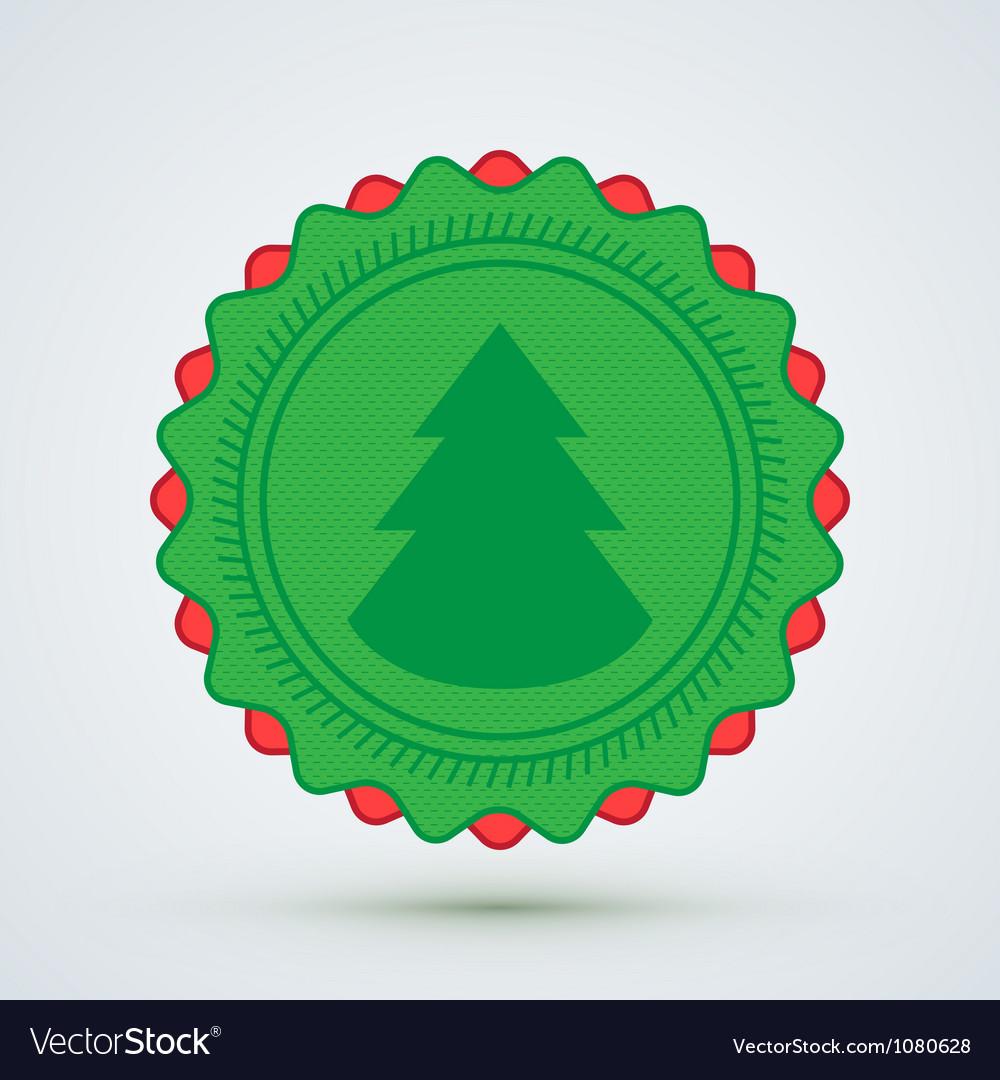 Merry christmas badge