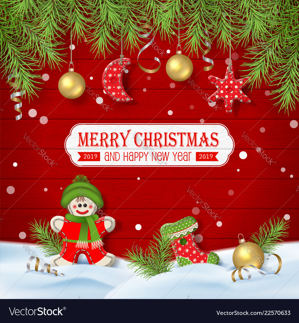 Christmas Background Images Free.Christmas Background With Ornaments