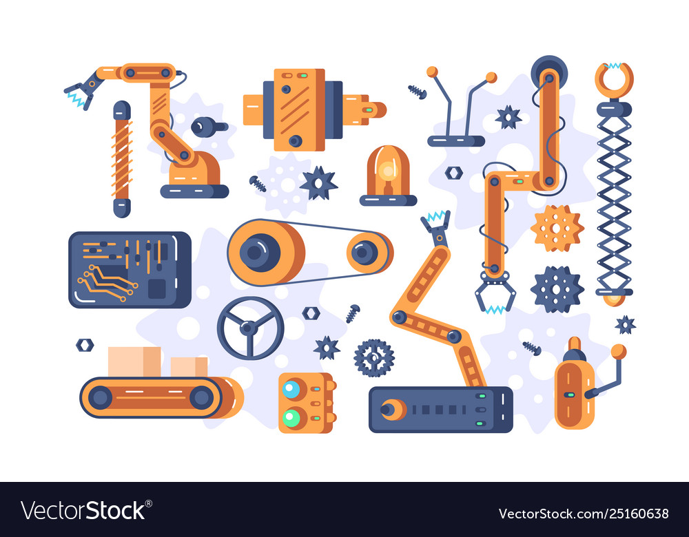 Mechanism parts set