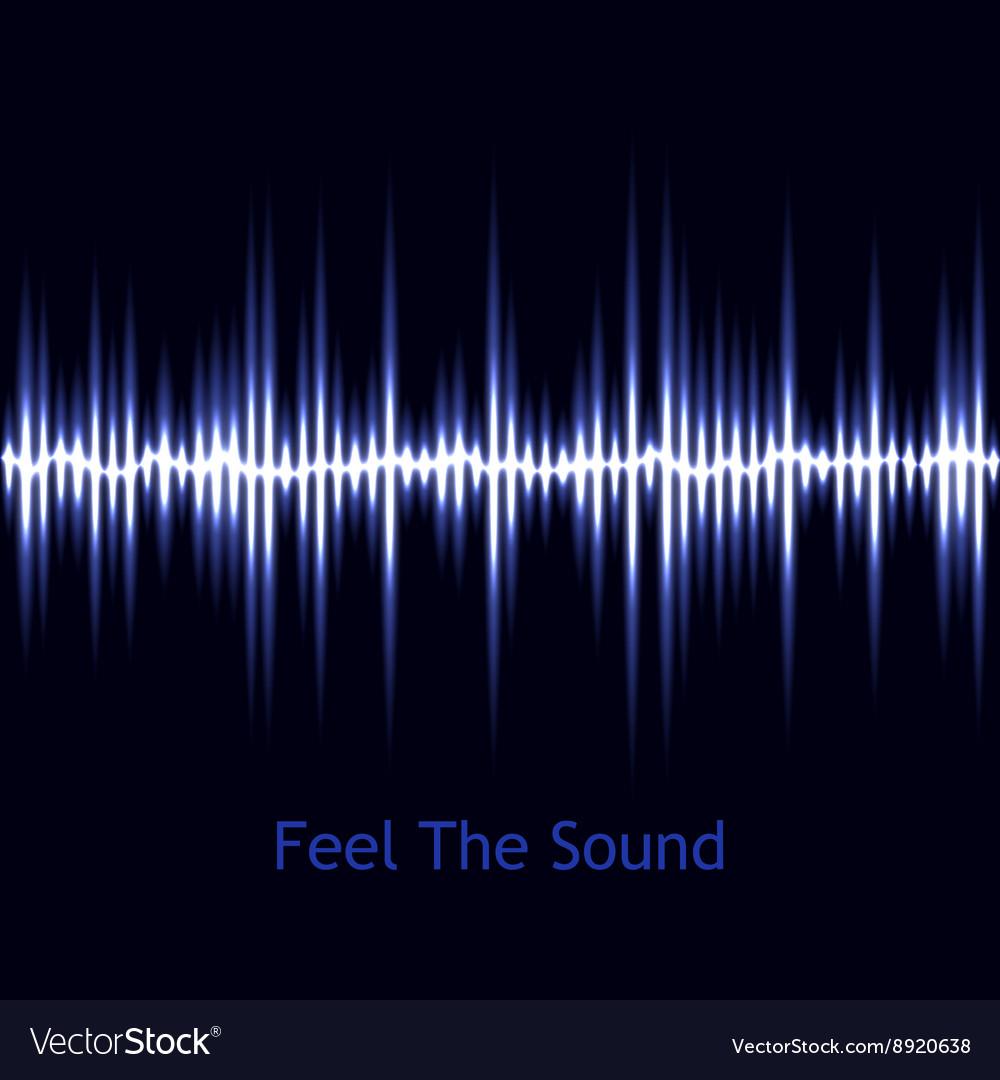Music background sound wave Audio wave