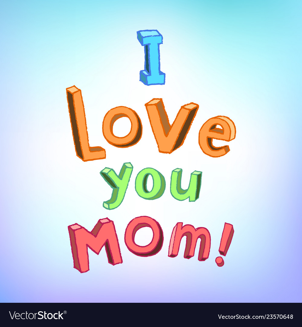 Happy mother day greeting design
