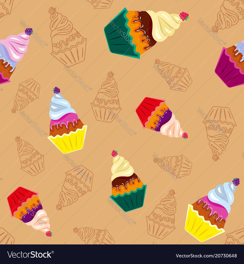 Sweet tasty cupcakes