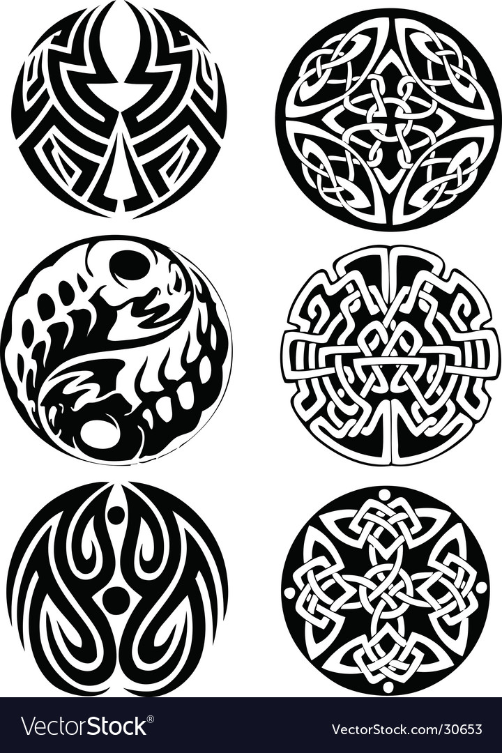 Abstract Celtic design works