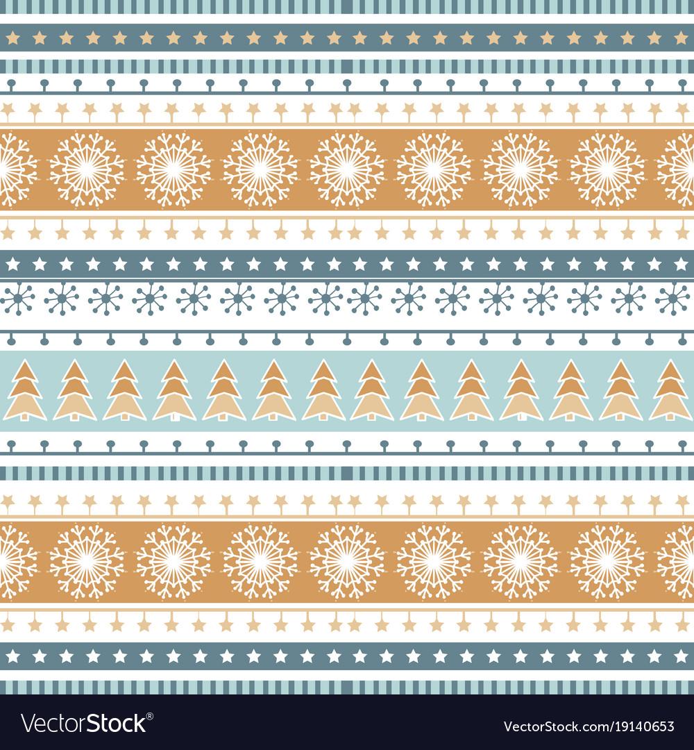 Christmas stripe ribbons pattern