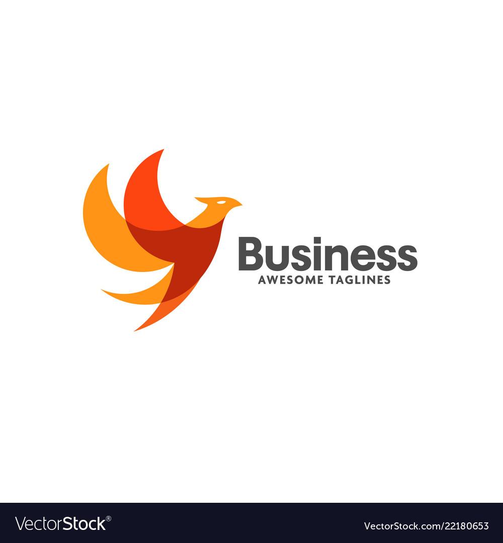 Creative bird logo