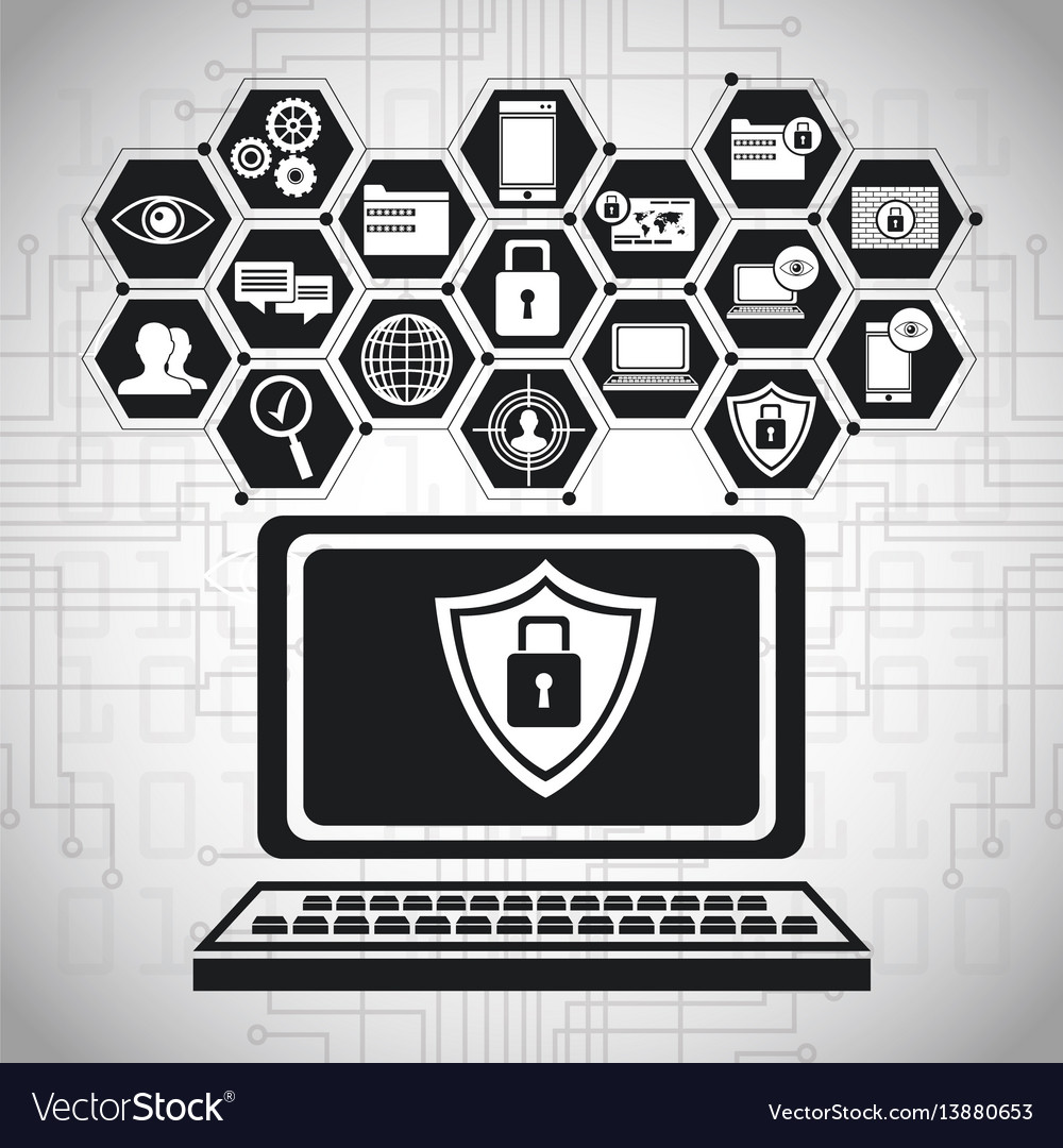 Laptop technology security data
