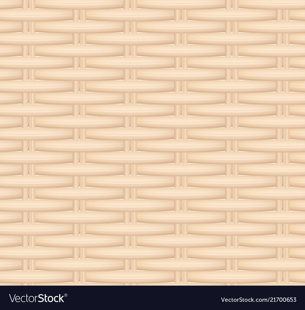 Seamless texture of a wicker basket