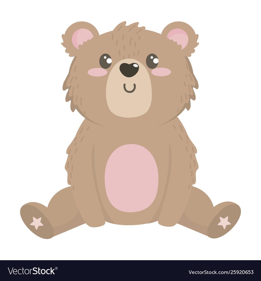Teddy Bear Cartoon Design Royalty Free Vector Image