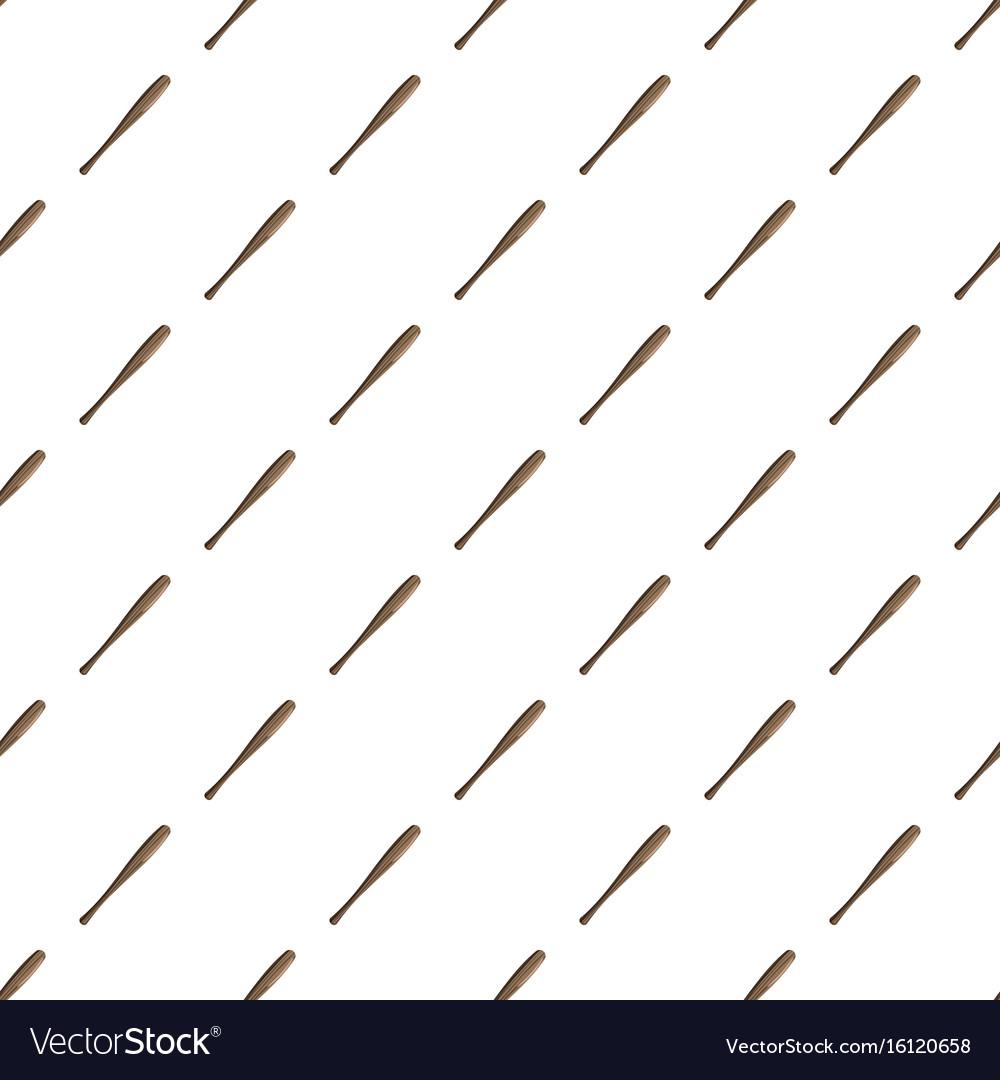Baseball Bat Pattern Royalty Free Vector Image