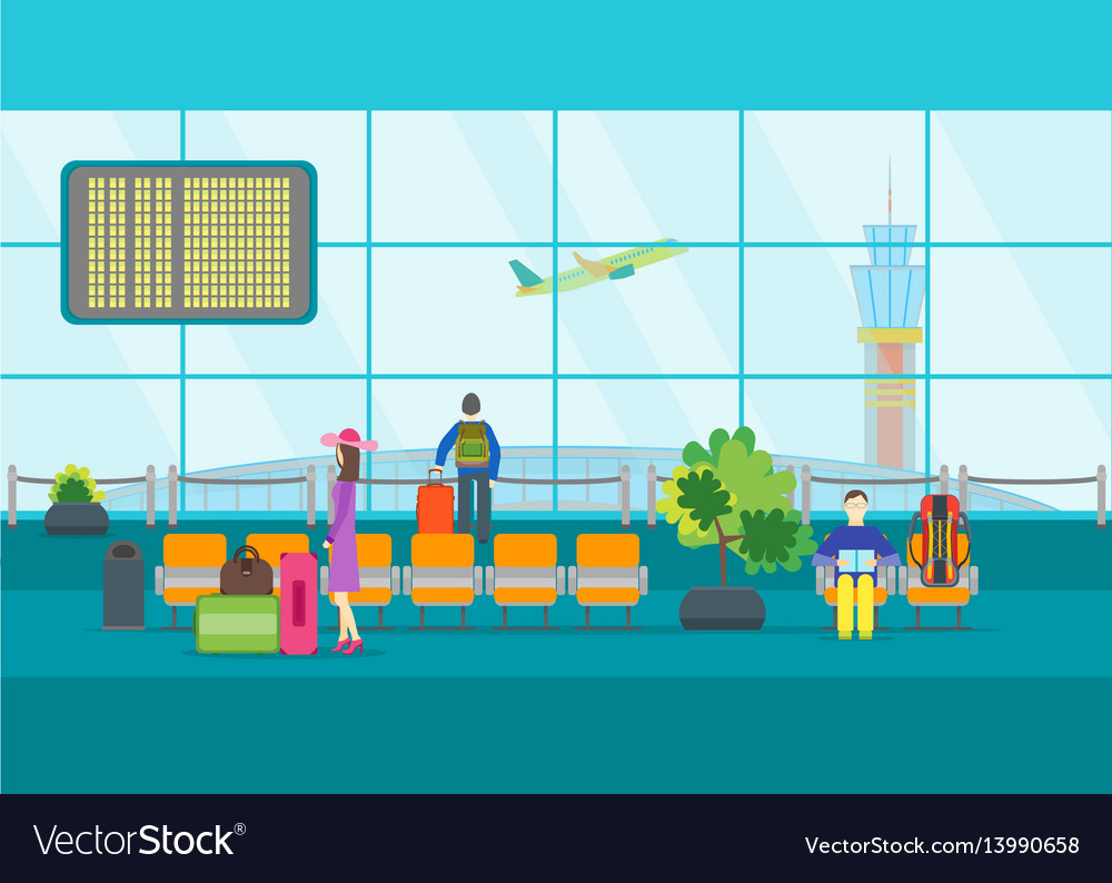 Image result for cartoon of airport