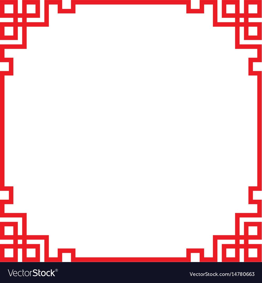 China border frame Royalty Free Vector Image - VectorStock