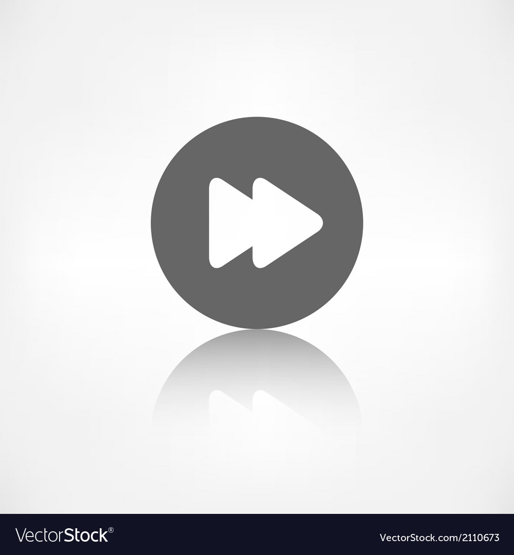Forward or skip icon Media player