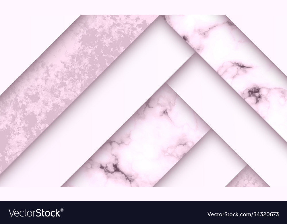 Modern luxury paper cut background with abstract